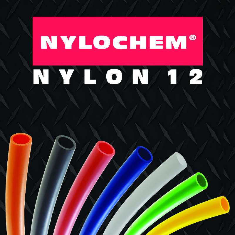 straight nylon tubing - nylochem fractional and metric tubing