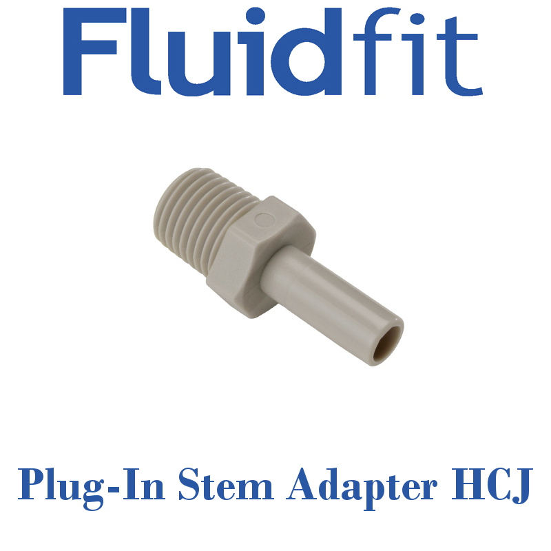 Fluidfit Straight Plug-In Stem Adapter - Individual