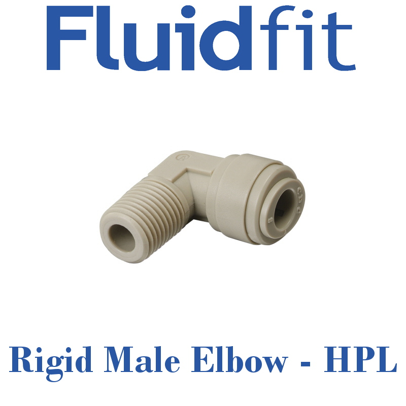 Fluidfit Rigid Male Elbow - Individual