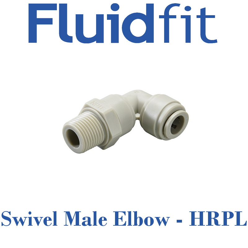 Fluidfit Swivel Male Elbow - Individual