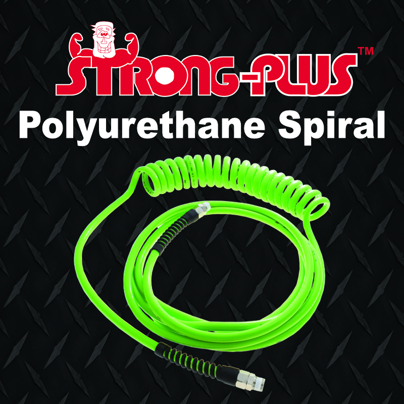 Strong Plus spiral recoil hose