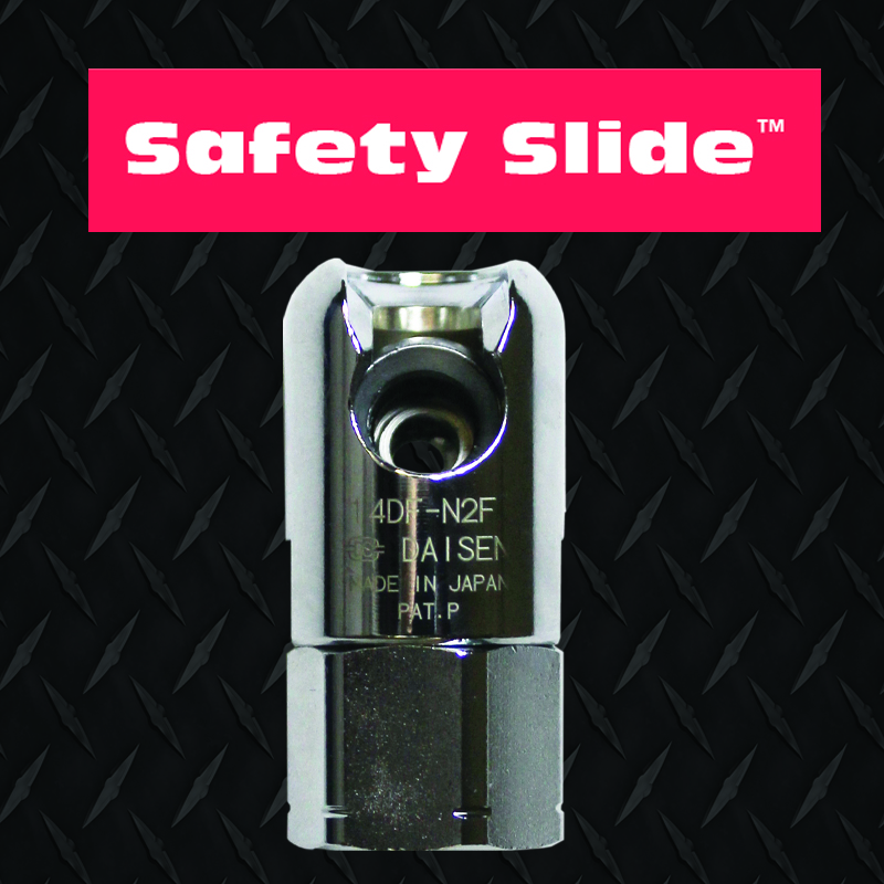 ATP Safety Slide full flow air coupling