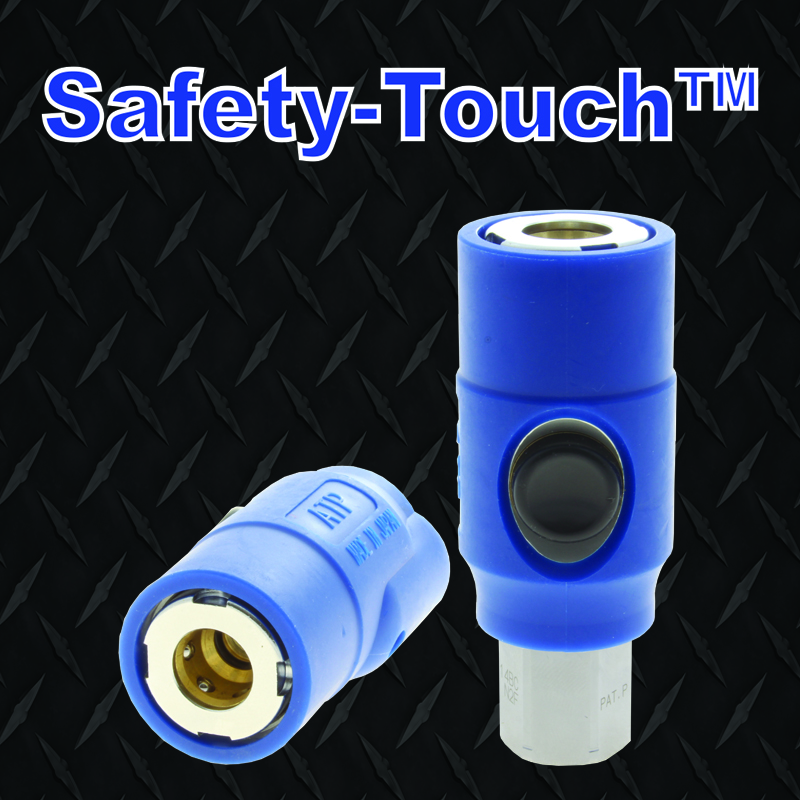 ATP safety Touch push button safety couplings