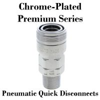 Chrome-Plated Premium Pneumatic Fittings