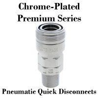 Chrome-Plated Premium Pneumatic Fittings