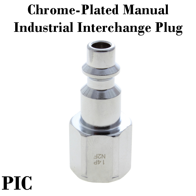 Chrome-Plated Industrial Interchange Plugs