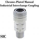 Chrome-Plated Industrial Interchange Manual Couplers