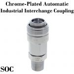 Chrome-Plated Industrial Interchange Automatic Couplers