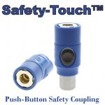 ATP Safety-Touch™ Push Button Safety Coupling