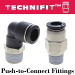 Technifit™ Push-to-Connect Fittings