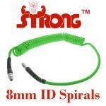 Strong 8mm Spirals