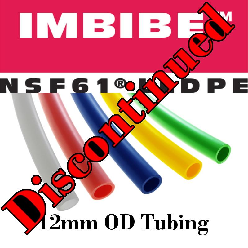 12mm Imbibe™ NSF 61® LLDPE Polyethylene Tubing - Advanced Technology