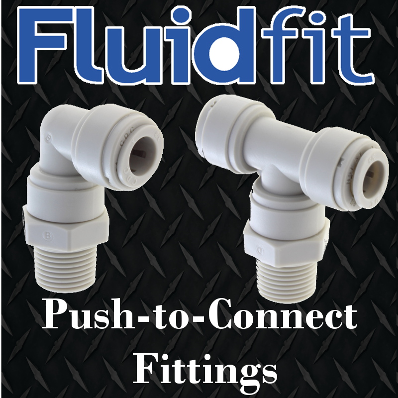 fluidfit push-to-connect fluid fittings