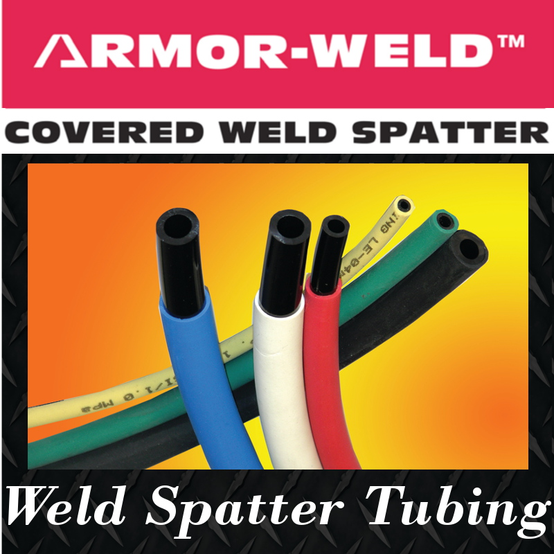 spatter resistant tubing