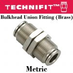 Bulkhead Union Fitting Metric