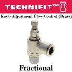 Knob Flow Control Frac
