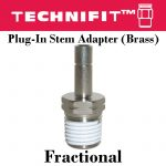 Plug-In Stem Adapter Frac