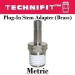 Plug-In Stem Adapter Metric