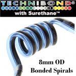 8mm Bonded Spirals