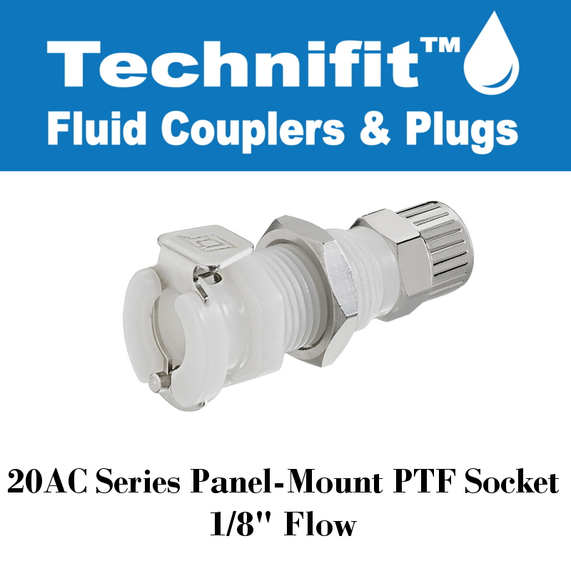 20AC Series Panel Mt NV Sold in a package of 25 5//32 PTF Socket 20AC-S8-025