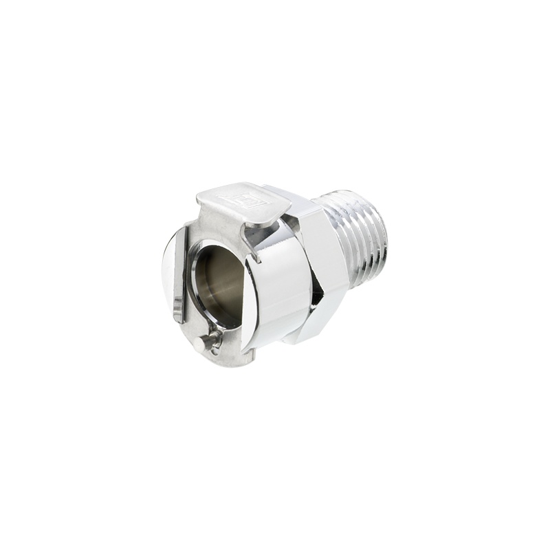 3//8 PTF 40CBV-SB9-06 Sold in a package of 10 Valved 40CB Series In-Line Socket