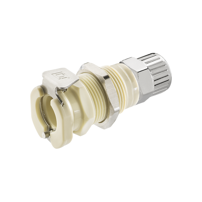 40PP Series Elbow Plug Sold in a package of 25 Valved Molded Almond Color 40PPV-PE10-06MALD 3//8 PTF