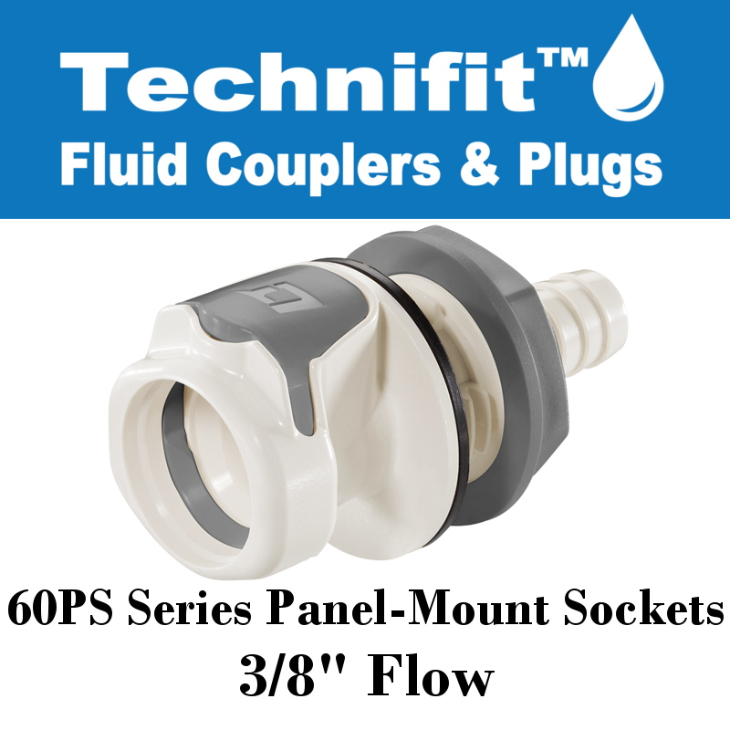 60PS-S22-08 Sold in a package of 10 60PS Series Panel Mt NV 1//2 HB Elbow Socket