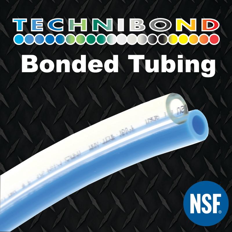 Straight Bonded Pneumatic Tubing - Technibond ®