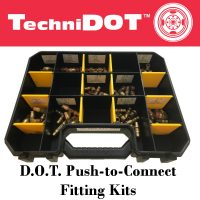 TechniDot DOT Push To Connect Fitting Kit